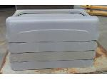 Lot: 55-121 - (4) Rubbermaid Swing Lids for Slim Trash Cans