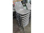 Lot: 55-137 - (9) Acrylic Stacking Chairs