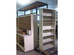 Lot: 125 - (6) METAL TABLES, BOOKCASE, CABINETS