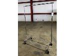 Lot: 02-20781 - Metal Rolling Clothes Rack