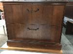 Lot: 148.DALLAS  - (3) WOODEN FILING DRAWERS