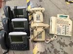 Lot: 162-164.DALLAS  - (6) PHONES, (3) VCRS & (3) EPSON PROJECTOR LAMPS