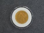 Lot: 5663 - 1886-S $5 GOLD COIN