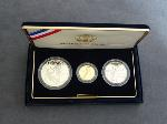 Lot: 5669 - 1994 USA WORLD CUP 3 PIECE PROOF SET