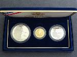Lot: 5670 - 1993 BILL OF RIGHTS 3 PIECE PROOF SET