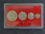 Lot: 5676 - PEACE SERIES COIN SET