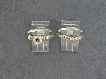 Lot: 5683 - 14K WEDDING SET
