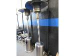 Lot: B5 - (2) OUTDOOR PROPANE HEATERS
