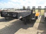 Lot: 21-EQUIP 027016 - 2002 SEI LBX-3636 BACKHOE TRAILER