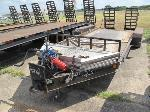 Lot: 23-EQUIP 987001 - 1998 SHOP BUILT SKID STEER TRAILER