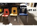 Lot: 63 - (20) Large Student Chairs