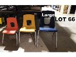 Lot: 66 - (20) Large Student Chairs