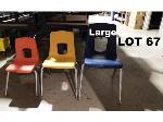 Lot: 67 - (20) Large Student Chairs