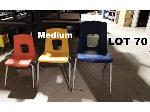 Lot: 70 - (20) Medium Student Chairs