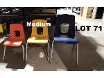 Lot: 71 - (20) Medium Student Chairs