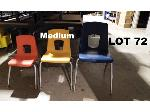 Lot: 72 - (20) Medium Student Chairs