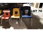 Lot: 76 - (20) Small Student Chairs