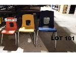 Lot: 101 - (20) Small Student Chairs