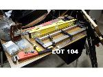 Lot: 104 - Level, Wrench, Tools & Hardware