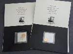 Lot: 5728 - 1986 & 1987 1/10 OZ. U.S. $5 GOLD COINS