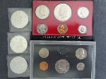 Lot: 5729 - (3) AMERICAN SILVER ROUNDS & (2) PROOF SETS