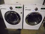 Lot: A7205 - Working LG Steam Washer Dryer Set