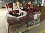 Lot: 39 - (35) Red Desk Chairs