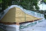 Lot: 519 - Hardieplank Cedarmill Primed Siding