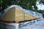 Lot: 521 - Hardieplank Cedarmill Primed Siding
