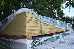 Lot: 522 - Hardieplank Cedarmill Primed Siding
