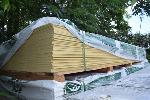 Lot: 523 - Hardieplank Cedarmill Primed Siding