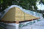 Lot: 524 - Hardieplank Cedarmill Primed Siding