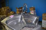 Lot: 582 - Kitchen Sink