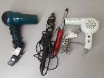 Lot: F101 - HAIR DRYERS & CURLERS