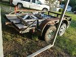Lot: 208 - 11-ft Flatbed Trailer