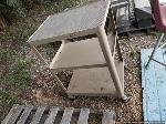 Lot: 220&221 - Tool Cart/Adjustable Stools, Brass, Aluminum Scrap Metal