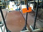 Lot: 54,55,56 - (11) Tables, Projector Screen, Fan & Misc