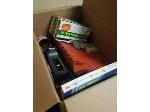Lot: 27,28&29.PU - Rubberbands, Clipboards, Rules, Pens, Fan, VCR, Printer & Room Divider