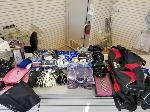 Lot: 37.PU - Batting Gloves, Shorts, Shirts, Bags, Caps, Laces