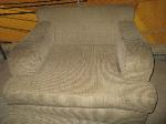Lot: 39.SPE - COUCHES, CHAIR & OTTOMAN