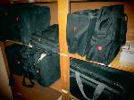 Lot: 46.SPE - (10) LAPTOP BAGS & TEXAS INSTRUMENTS SCREENS