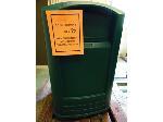 Lot: 70.UVA - RUBBERMAID PLASTIC TRASH CAN
