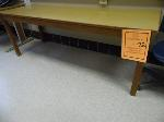 Lot: 72.UVA - TABLES, (2) FILE CABINETS & (5) ROLLING CHAIRS