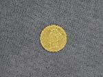 Lot: 11 - 1874 $3 GOLD PIECE