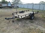 Lot: 0806-16 - HOMEMADE FLATBED TRAILER