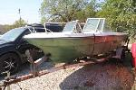 Lot: 008 - 1972 VIP BOAT W/ TRAILER