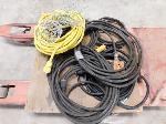 Lot: 17 - Heavy Duty Extension Cords, Light String