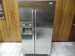 Lot: A7275 - Working Whirlpool Stainless Refrigerator