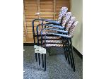 Lot: 7,8&9.BEA - (3) Tables& (10) Chairs