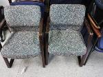 Lot: 10&11.BEA - (2) Wood File Cabinets & (10) Chairs